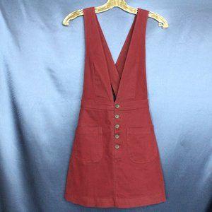 Forever 21 Overall Skirt Dress